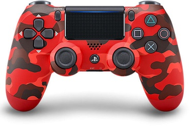 Sony DualShock 4 Contoller Red Camouflage V2