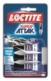 LĪME UNIVERSĀLĀ SUPER ATTAK 3 X 1 g (Loctite)