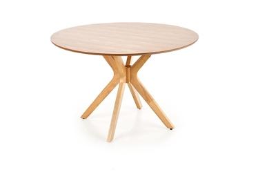 Обеденный стол Halmar Nicolas Natural Oak, 1200x1200x770 мм