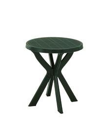 Садовый стол Diana Don, зеленый, 70 x 70 x 72 см