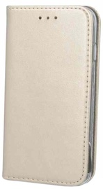 Mocco Smart Magnetic Book Case For Samsung Galaxy A6 Gold