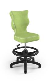 Bērnu krēsls Entelo Petit Black HC+F VS05, zaļa, 350 mm x 950 mm
