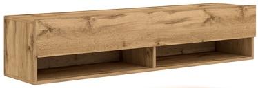 ТВ стол Vivaldi Meble Derby 140, коричневый, 1400x328x300 мм