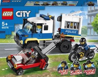 Konstruktors LEGO City Police Policijas cietumnieku furgons 60276, 244 gab.