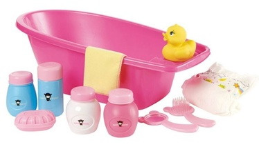 Happy Friend Doll Bathtub With Accessories