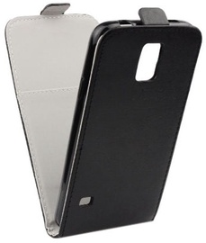 Telone Flexi Slim Vertical Flip Case For Samsung Galaxy J3 J330F Black