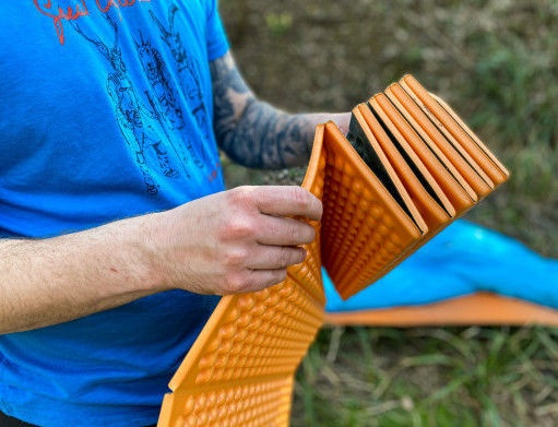 Exped FlexMat Medium Orange 183x52cm