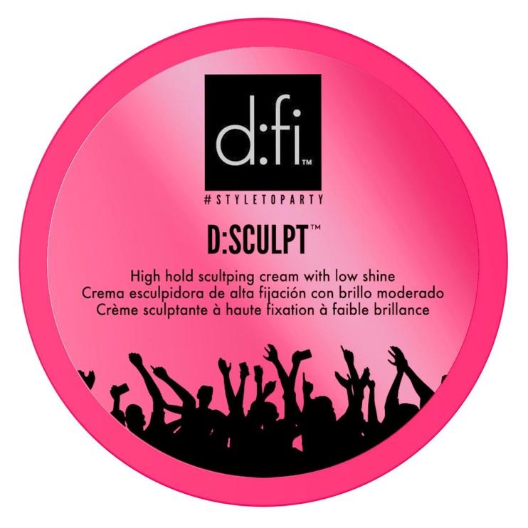 D:fi Hair D:sculpt High Hold Hair Sculpting Cream 150g