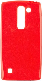 Telone Candy Shine Jelly Back Case For LG K8 Red