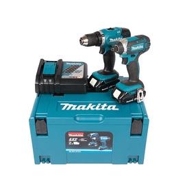 Akumulatora skrūvgriezējs - urbis Makita DLX2141AJ