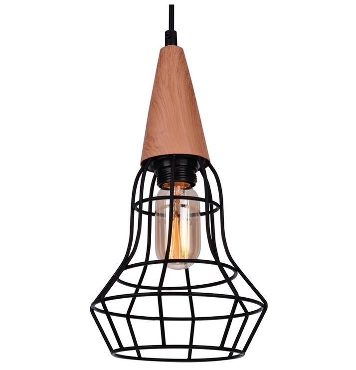 Gaismeklis Force Lighting 41086-1 40W E14 Black