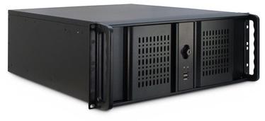 Корпус сервера Inter-Tech 4U-4098-S ATX, черный