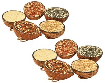 Sausa pārtika VLX Coconut Halves, 2.9 kg