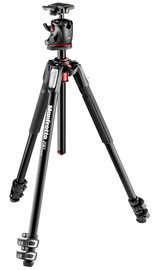 Manfrotto 190 Kit Alu 3s Tripod + Ball Head