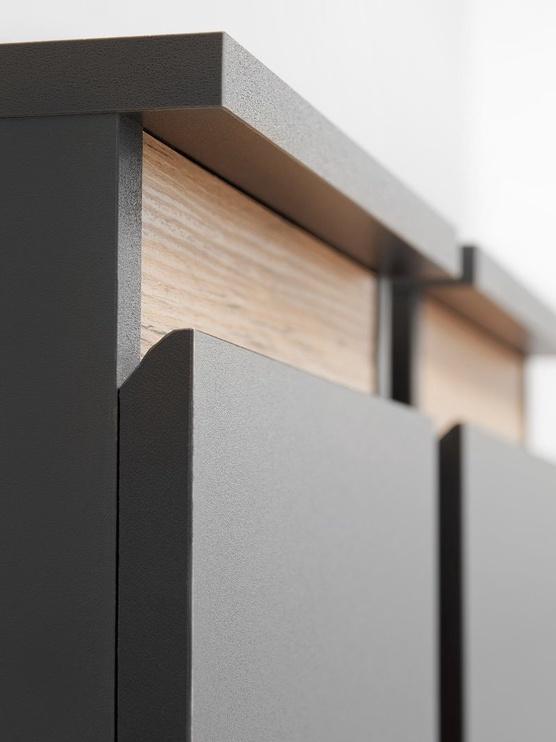 ASM Modo Living Room Wall Unit Set Anthracite/Wotan