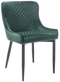 Ēdamistabas krēsls Signal Meble Colin B Green/Black