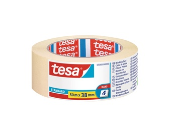 Tesa Standard Masking Tape 4 Days 38mm 50m
