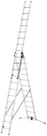 Hailo S100 ProfiLOT Combinable Ladder 3x12 Steps