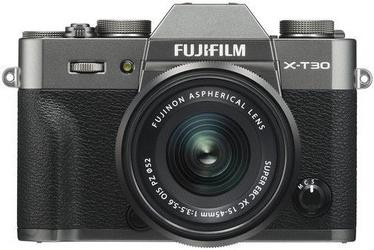 Sistēmas fotoaparāts Fujifilm X-T30 + XC 15-45mm 3.5-5.6 OIS PZ Charcoal Gray