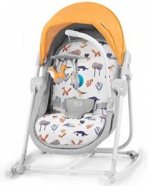 Детская кроватка - качели KinderKraft Unimo 5in1 Forest Yellow 2020