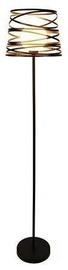 Светильник Candellux Akita Floor Lamp 40W E27 Black