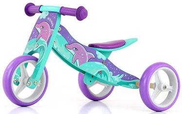Балансирующий велосипед Milly Mally Jake Ride On Dolphin