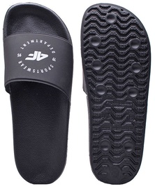 4F Mens Slides H4Z20-KLM001 Black 44