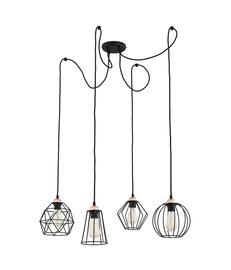 LAMPA GRIESTU GALAXY 1646 4X60W E27