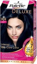 Schwarzkopf Palette Deluxe Intensive Oil Care Color Hair Color 909 Blue Black