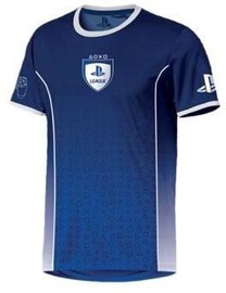 Licenced Playstation League Symbol Fade T-Shirt Blue L