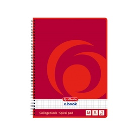 Herlitz Spiral Pad A5 x.book Red 297531