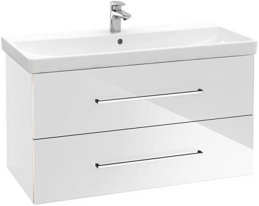 Vannas istabas skapītis Villeroy & Boch Avento 760 x 447 mm Crystal White