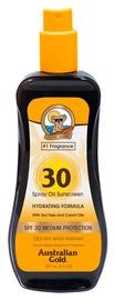 Australian Gold Spray Oil Sunscreen With Tea Tree And Carrot Oils SPF30 237ml