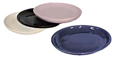 SN Ceramic Pot Plate L-1 Ø12cm White