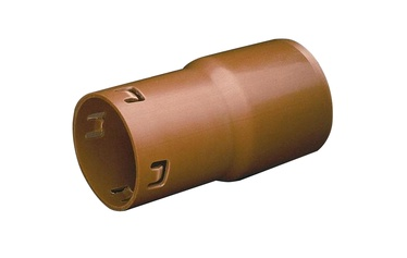 Wavin Drain Connector Pipe Brown 110/113mm