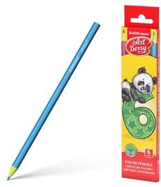 Цветные карандаши ErichKrause Art Berry Color Pencils Panda 6pcs