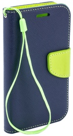 Telone Fancy Diary Bookstand Case Huawei Ascend G620S Blue/Light Green