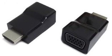 Gembird HDMI to VGA adapter, single port