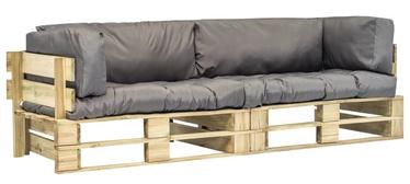 Садовый диван VLX 275297, коричневый