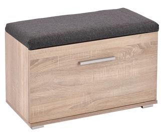 Шкаф для обуви Halmar Lima ST2 Brown, 700x320x450 мм