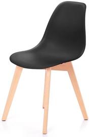 Ēdamistabas krēsls Homede Mirano Black, 4 gab.