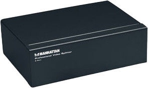 Manhattan 207331 VGA 2-Port Professional Video Splitter 1/2