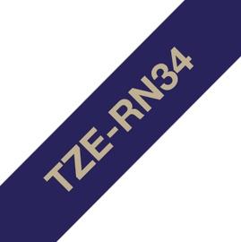 Uzlīmju lenta Brother TZe-RN34, 400 cm