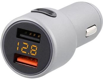 Tellur Dual USB + USB Type-C Fast Car Charger Silver