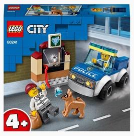 Konstruktors LEGO City Policijas suņu patruļa 60241, 67 gab.