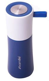 Термос Kamille Vacuum Flask 350ml Dark Blue KM2021