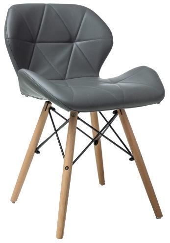 Ēdamistabas krēsls Signal Meble Matias Grey, 1 gab.