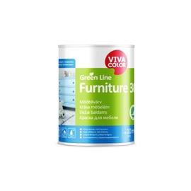 Krāsa Vivacolor Green Line Furniture 30 A, 0.9 l, balta