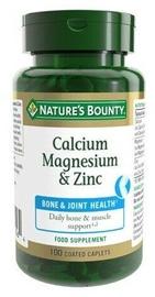 Nature's Bounty Calcium Magnesium Zinc 100 Caps