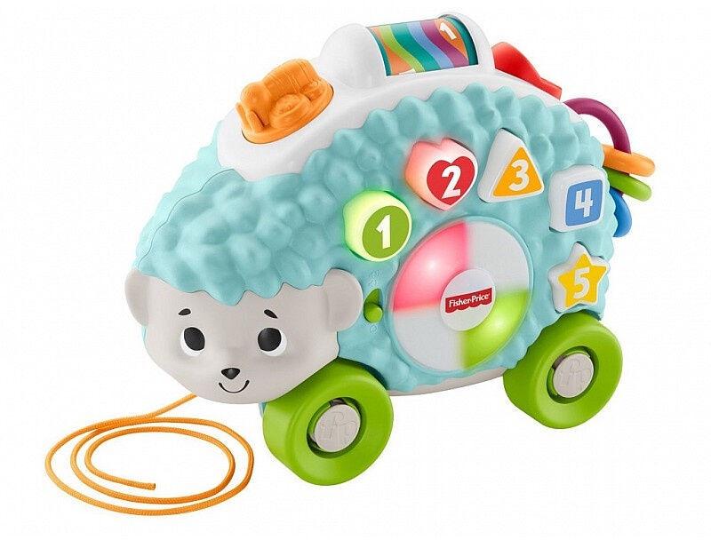 Interaktīva rotaļlieta Fisher Price Price Happy Shapes Hedgehog RU GJB14